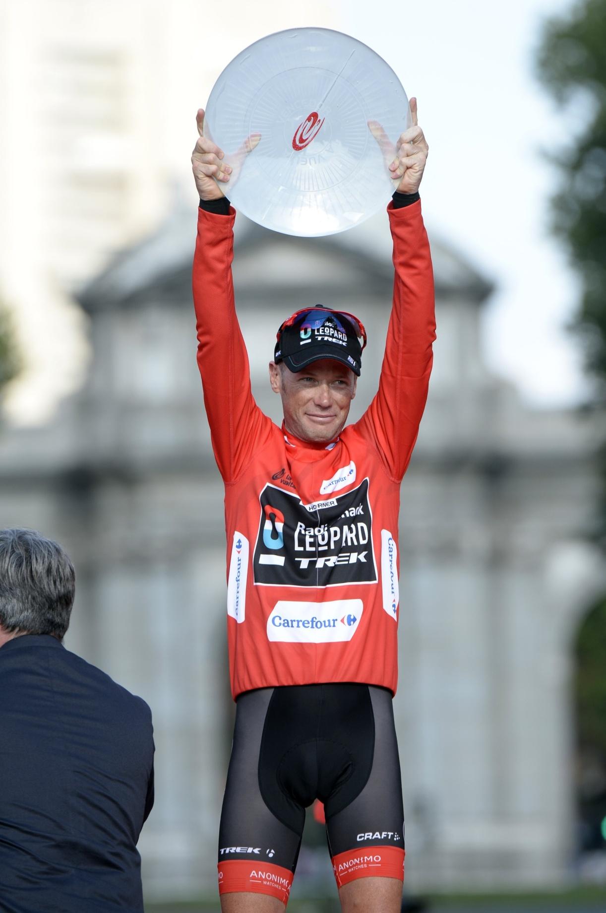 Vítězství ve španělské Vueltě je životním úspěchem Chrise Hornera.