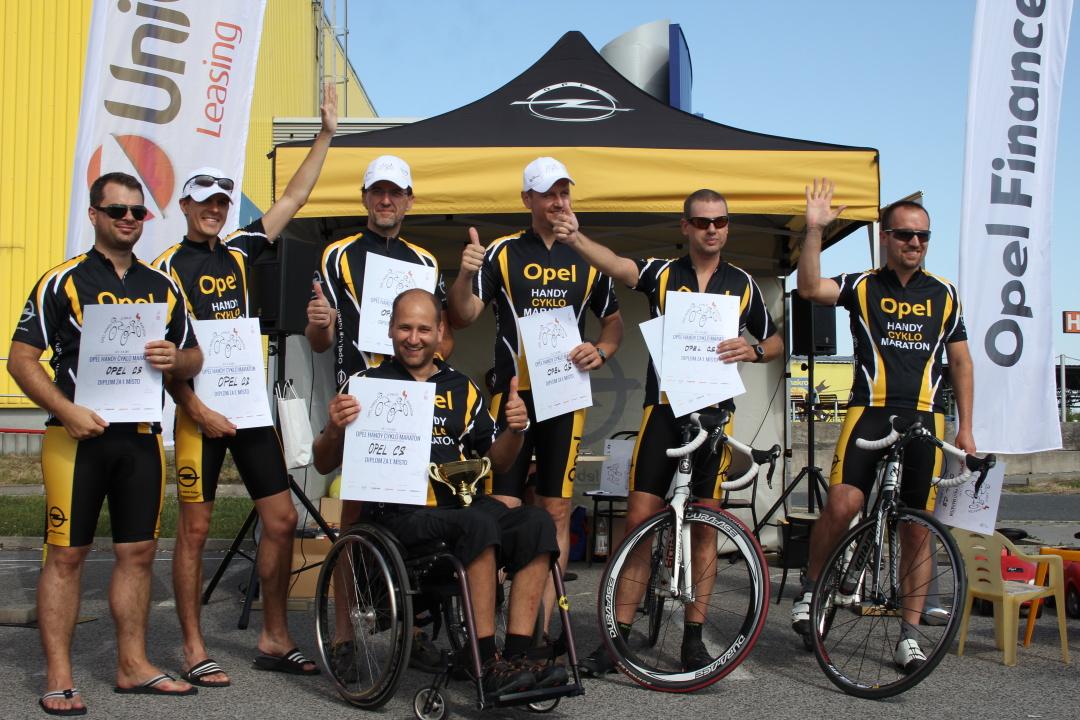 Vítězný tým Opel C&S