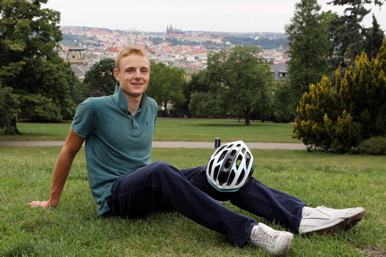 Petr Vakoč žije a trénuje v Praze. Pokud není s týmem na soustředění nebo závodech. Foto: Pavel Myška.