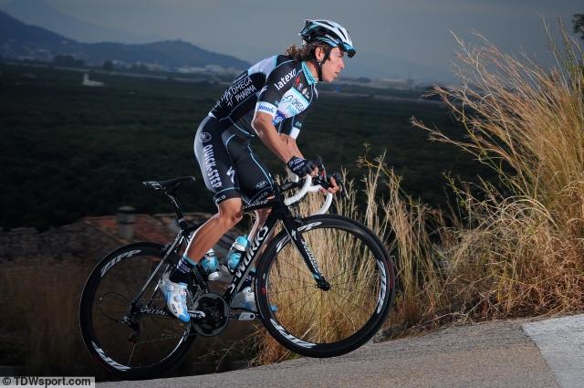 Rigoberto Uran závodí letos v týmu OmegaPharma-QuickStep.