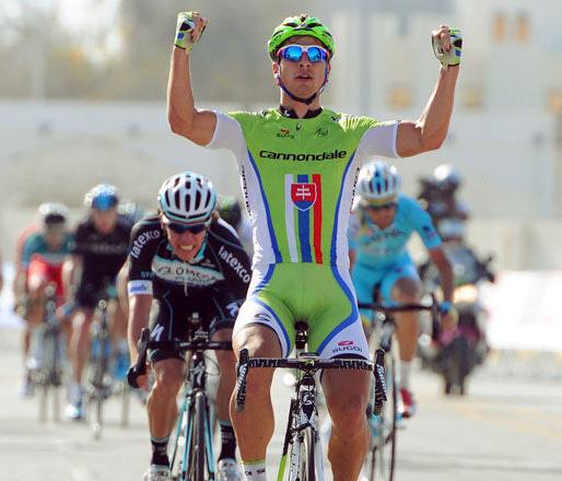 Peter Sagan letos poprvé vítězí. Foto: Tour of Oman.
