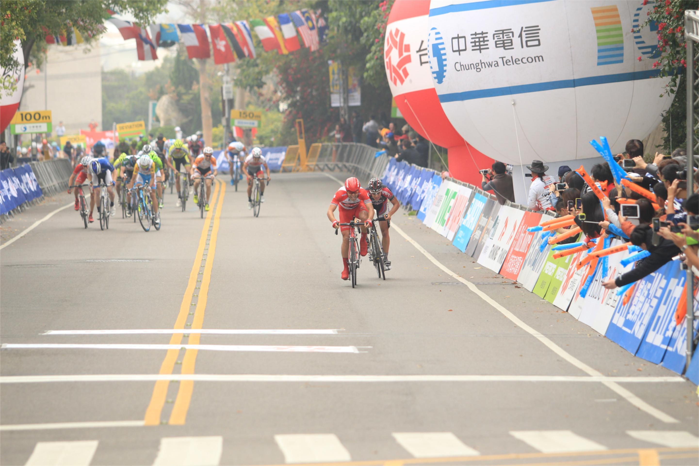 Tour of Taiwan - dojezd 3. etapy.