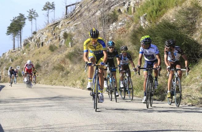 Contador odjíždí.