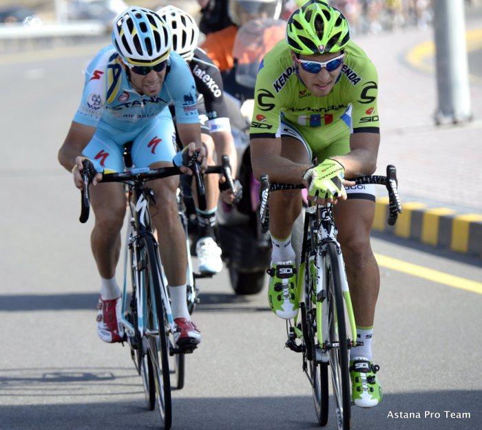 Nibali a Sagan.