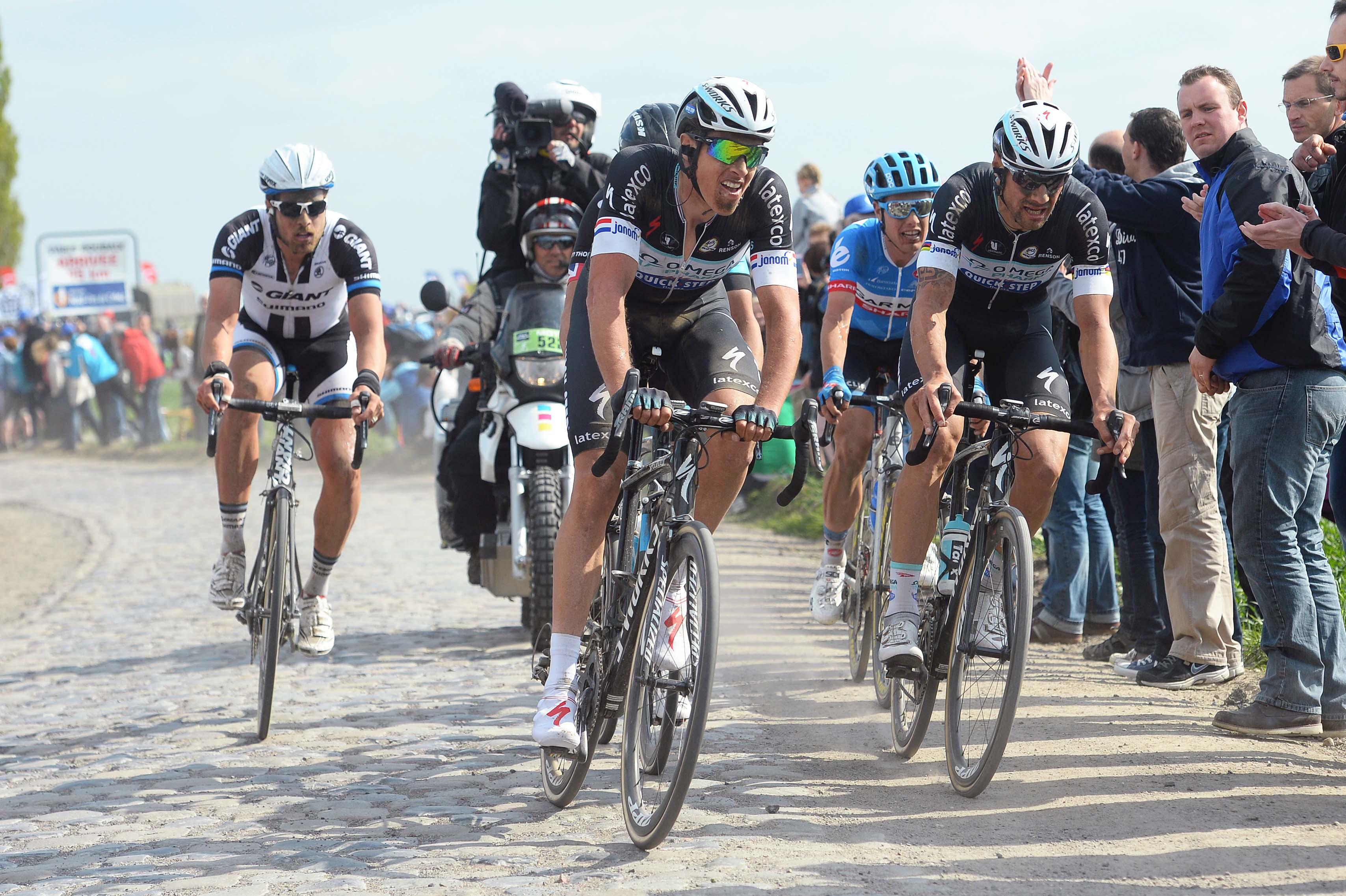 Dvojce Omegy Terpstra a Boonen.