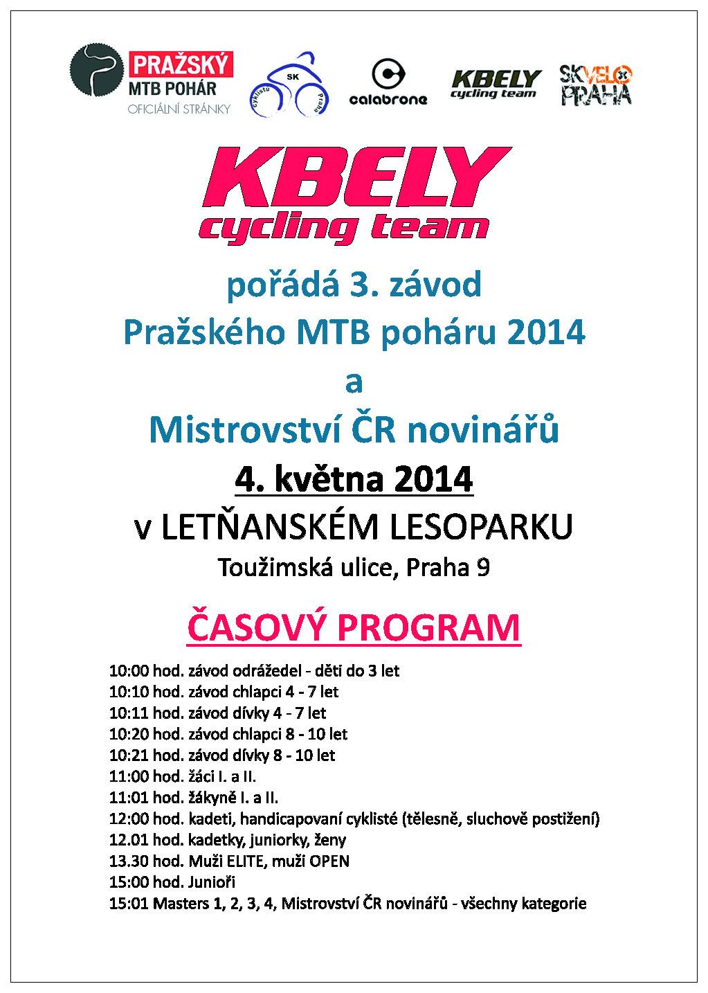 MTB Letňany plakát.
