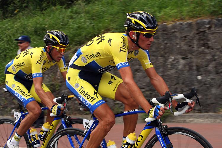Contador a Kreuziger.