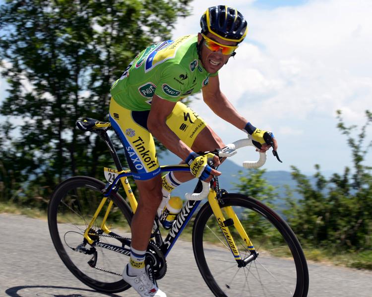 Contador v zeleném