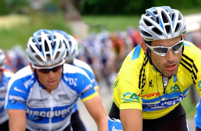Armstrong a Hincapie.