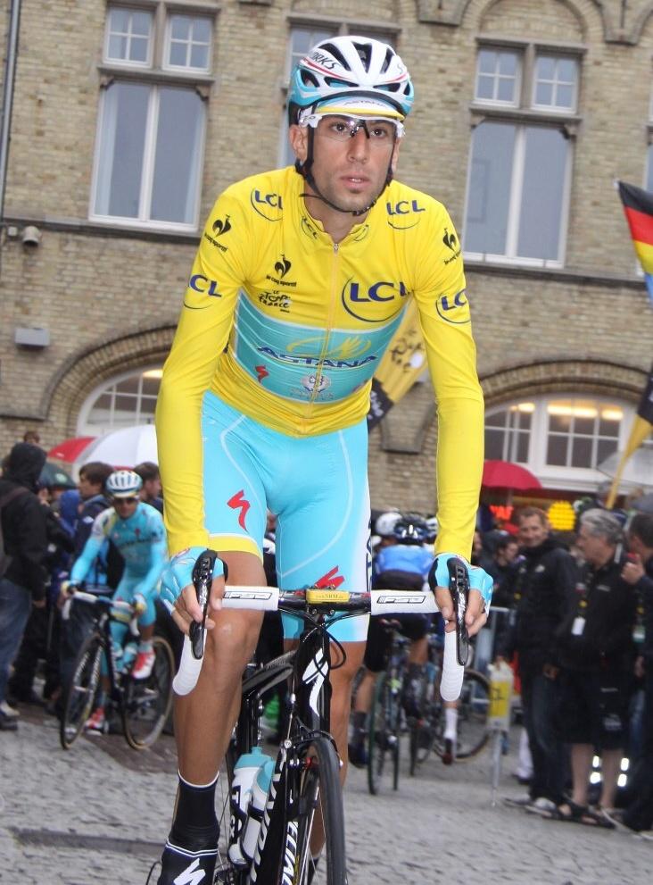 Vincezo Nibali.