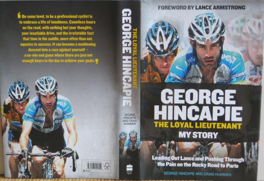 Životopisnou knihu Geoge Hincapieho můžete objednávat na www.velobooks.cz