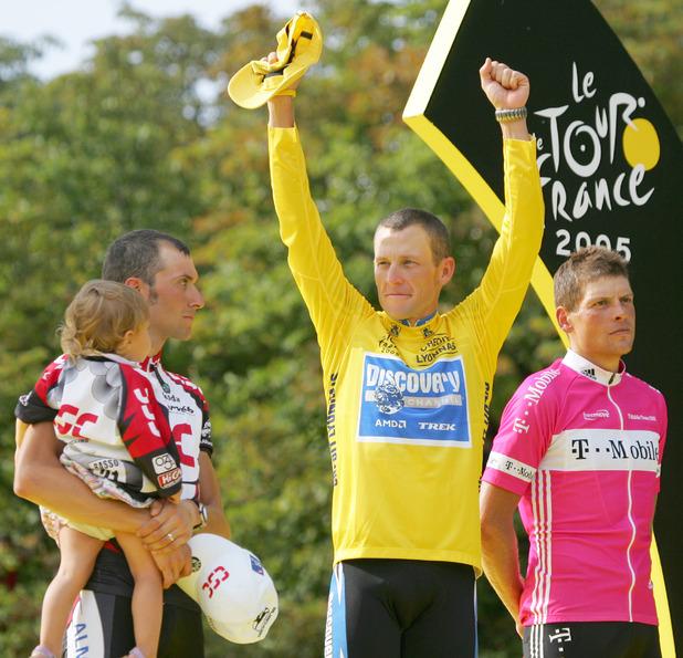 Stupně vítězů Tour de France 2005.