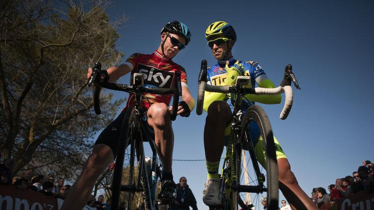 Froome a Contador.