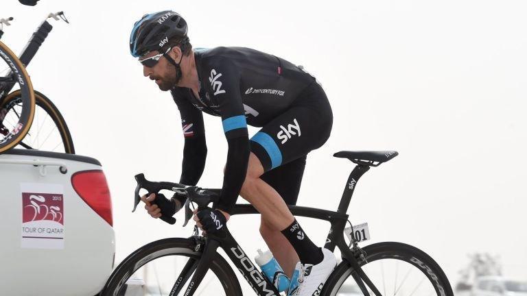 Bradley Wiggins zahajuje svou sezonu na etapách Kolem Qataru.