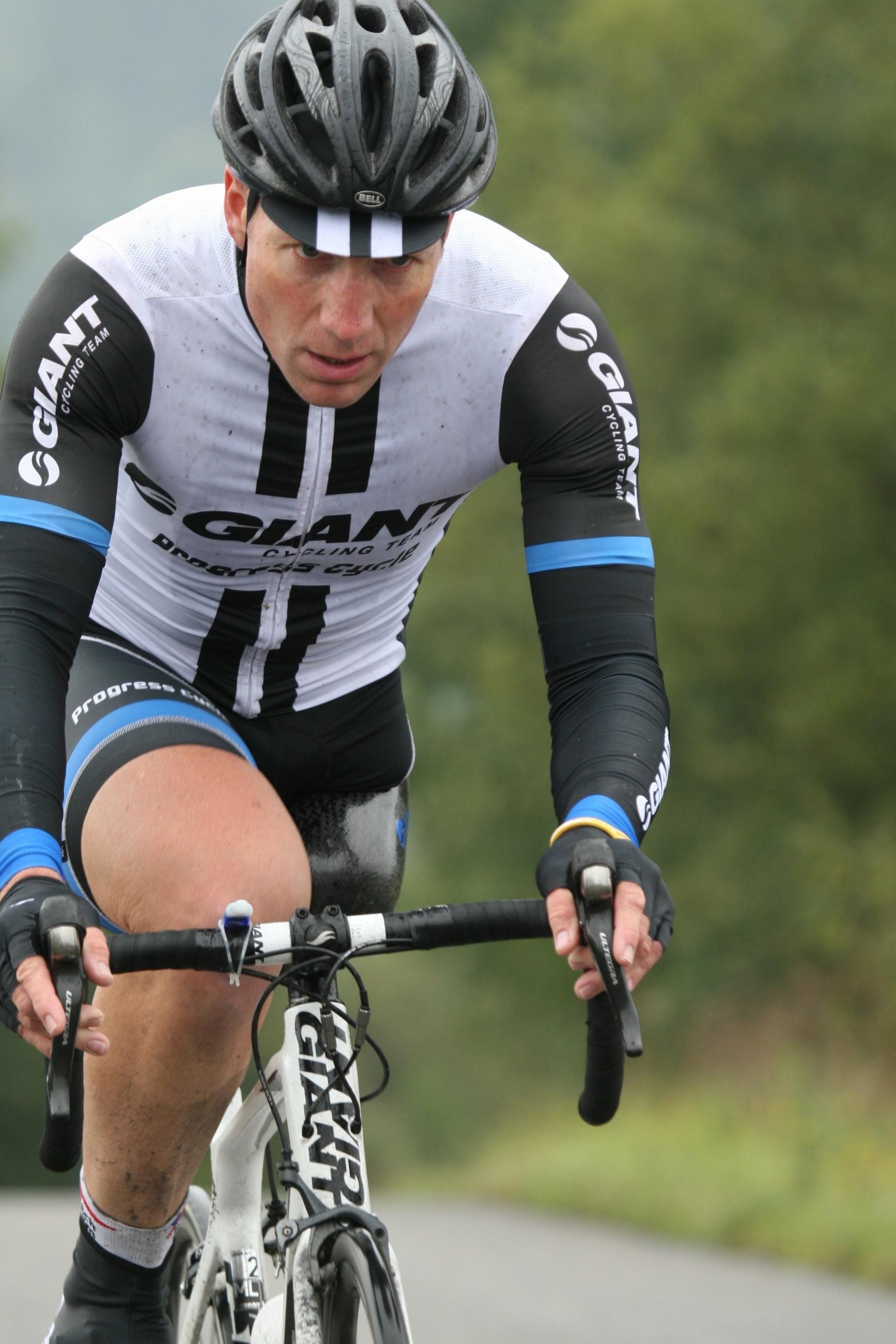 Michal Stark při tréninku