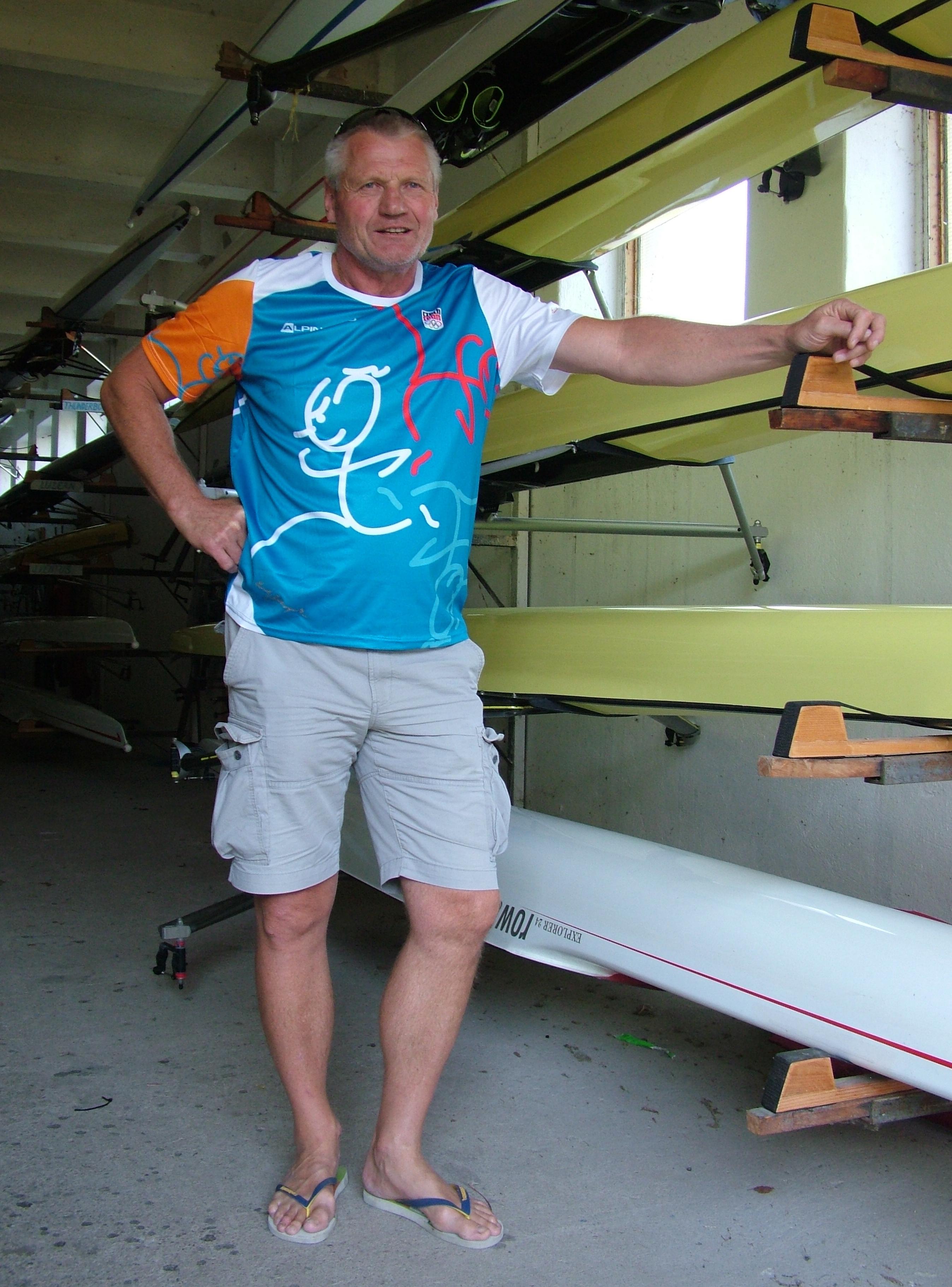 Jak chutná medailový úspěch na světovém šampionátu zažil Milan Doleček i v roli veslaře.