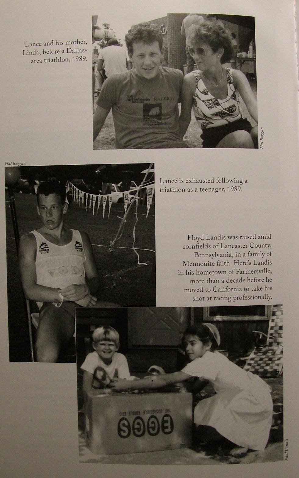 Lance Armstrong se svou matkou Lindou.