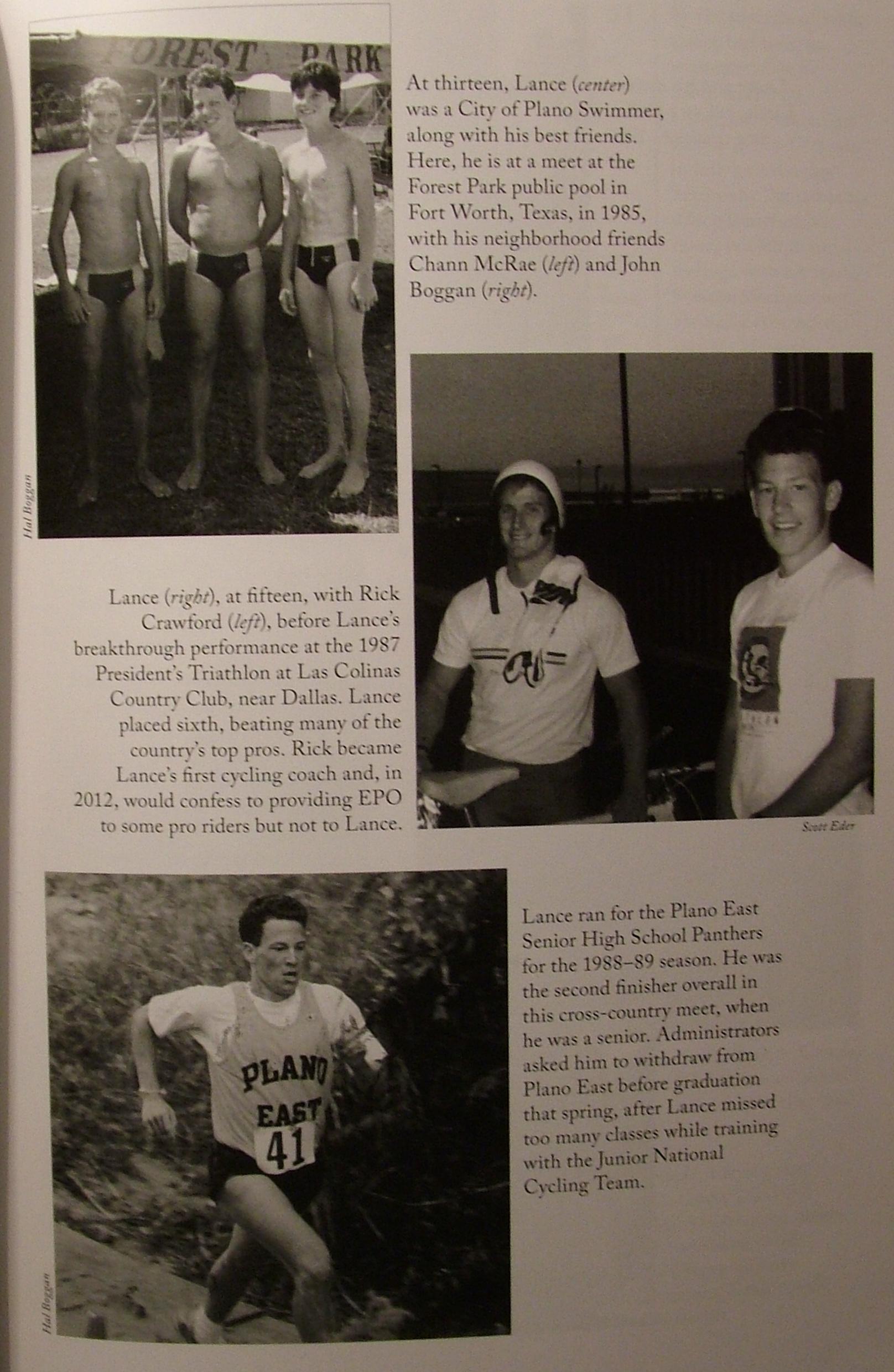 Začátky Lance Armstronga v triatlonu.