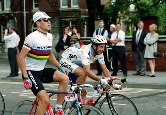Armstrong s LeMondem v roce 1994.