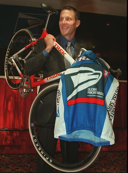Lance Armstrong získal angažmá v týmu U.S.Postal Service.