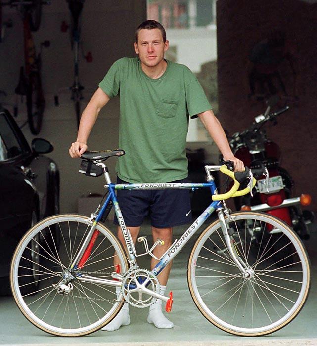 Lance Armstrong v únoru 1997.