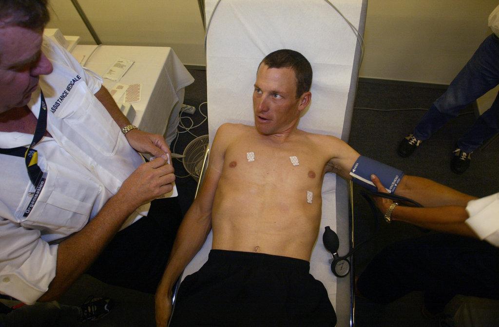 Lance Armstrong - objekt vědy.