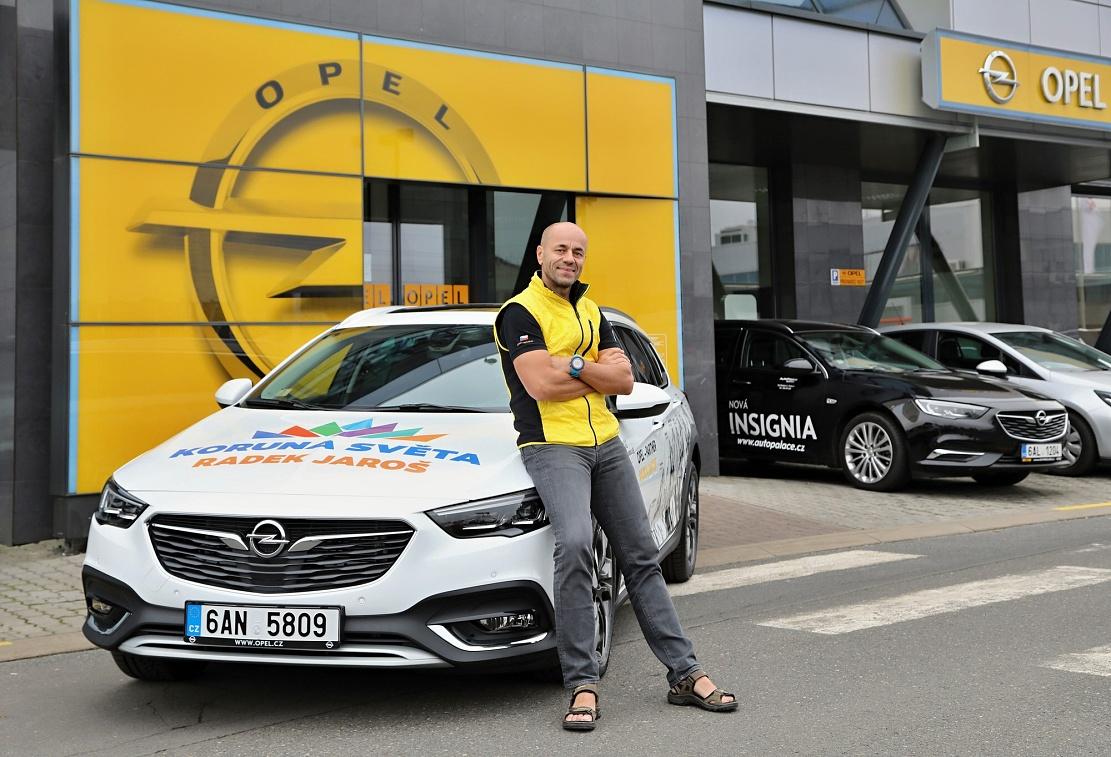 Radek Jaroš a jeho nový Opel Insignia 4x4.
