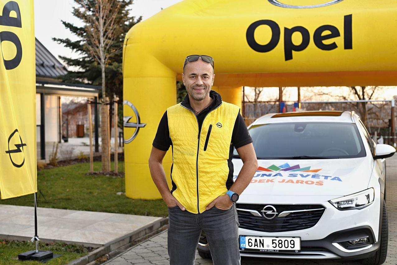 Radek Jaroš spolupracuje s Opelem již řadu roků.