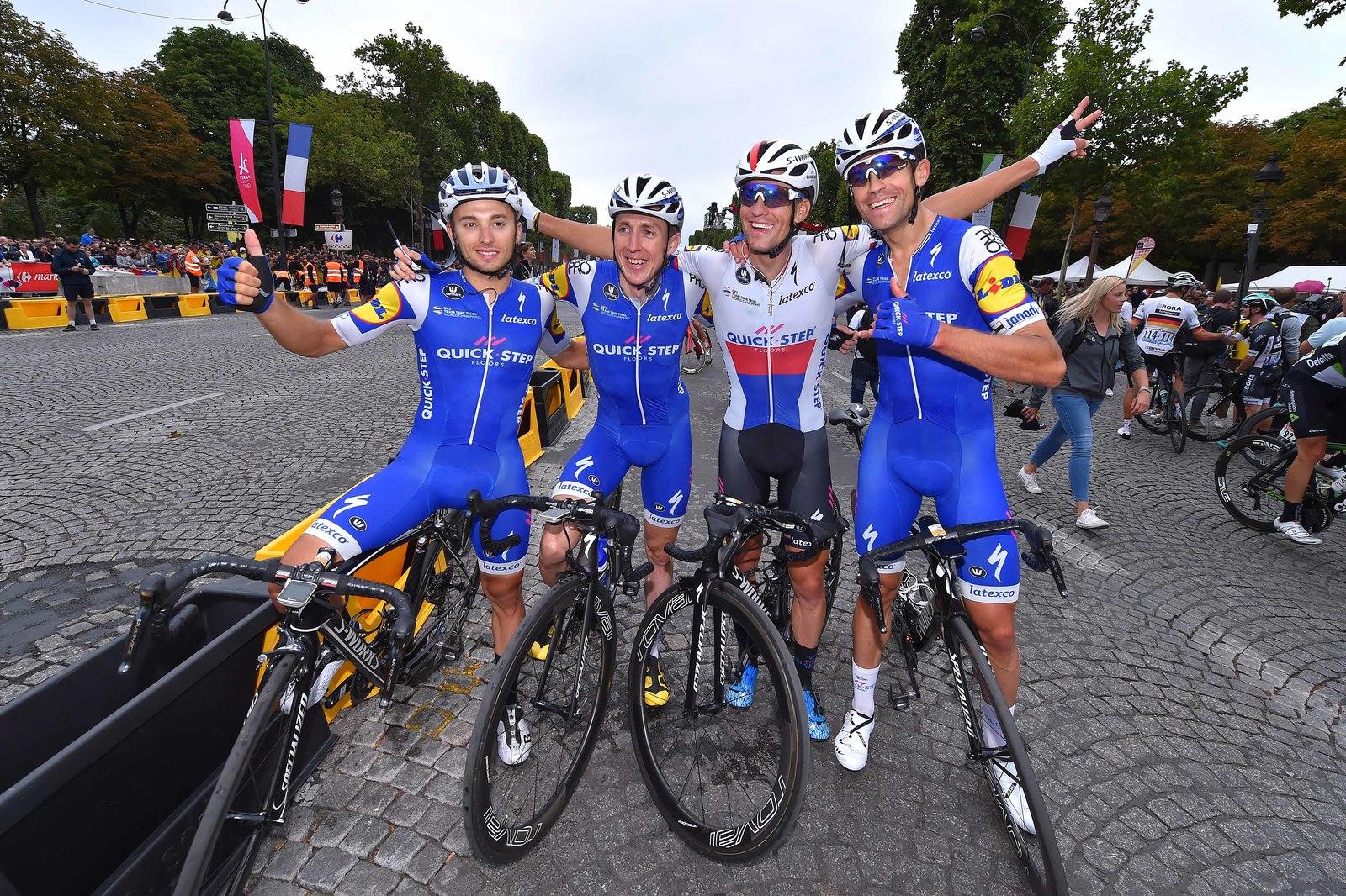 Tour de France cíl.