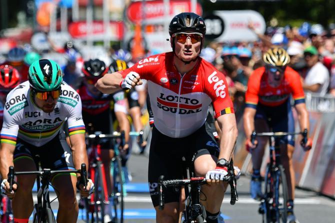 Greipel vítězí v 1. etapě Tour Down Under.